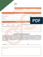Formulário de Exames de Saúde