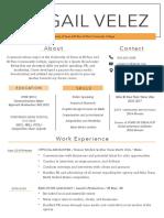 college resume