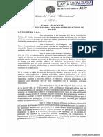 Decreto Supremo que prohíbe uso de bienes del Estado en campaña electoral