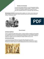 Ejemplos de antropología