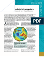 Precise Geodetic Infrastructure, Report in Brief
