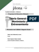 TEORIA GENERAL DEL MOVIMIENTO Y ENTRENAMIENTO