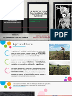 11. La agricultura tradicional en México