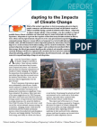 Adapting to the Impacts of Climate Change, Report in Brief