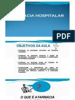 FARMACIA HOSPITALAR ESTRUTURA
