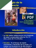 Semiología de la Adolescencia