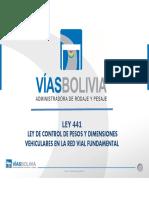 Presentacion VIAS BOLIVIA