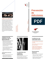 PREVENCION DE ADICCIONES