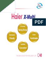Multi Split inverter DC   X-MULTI