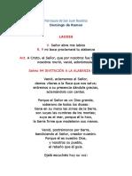 LAUDES DOMINGO DE RAMOS