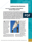 Verifying Greenhouse Gas Emissions, Report in Brief