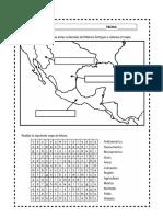 ÁREAS culturales de México