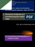I. Discusiones incipientes (1810-1860)