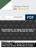 3 - Produtividade - 10 Ações