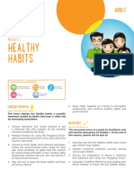 Adult Module 1 - Five Healthy Habits Facilitators Guide (English)