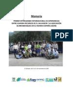 Memoria Intercambio Internacional Guarda Recursos de El Salvador y GEEM España