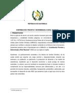 Gobierno de Guatemala INDC-UNFCCC Sept 2015.pdf
