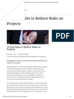 10 Easy Rules to Reduce Risks on Projects _ Business Improvement Architects.pdf
