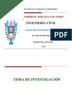 5. TEMAS DE INVESTIGACION