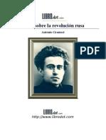 Gramsci Antonio-Notas sobre la revolución rusa