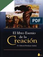 El Libro Esenio de La Creacion - Edmond Bordeaux Szekely
