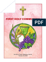 Holy Communion Booklet 2020