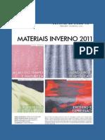 inverno 2011-materiais