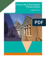 FINAL Former Kyneton Primary School Engagement Report