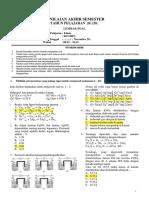 Soal PAS Kimia Kelas XII - Programpendidikan