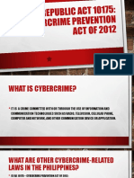 1. Cybercrime Prevention Act of 2012-JOPAY
