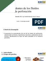 Clase 1 - Introducción a los fluidos de perforación-1