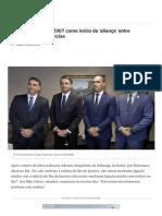 Cronologia aponta 2007 como início da 'aliança' entre Bolsonaros e as milícias - CartaCapital