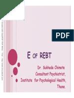 E of REBT