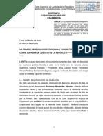 Casación N° 19992-2017 CAJAMARCA