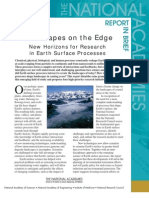 Landscapes on the Edge, Report in Brief