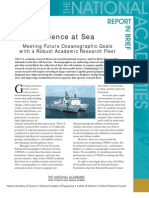 Meeting Future Oceanographic Goals with a Robust Academic Research Fleet, Report in Brief