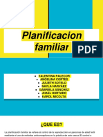 PLANIFICACIÓN FAMILIAR.