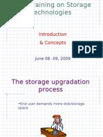Basic Training on Storage Technologies