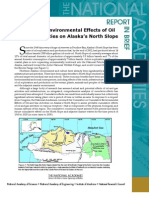 Cumulative Environmental Effects of Oil and Gas Activities on Alaska's North Slope, Report in Brief