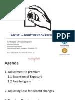 2020_03_Adjustment on Premium and Losses