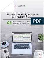 99-Day-Study-Schedule-for-USMLE-Step-1