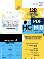 Program (15 Copies - colored)