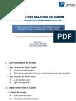 FISCALITE DES SALAIRES AU GABON