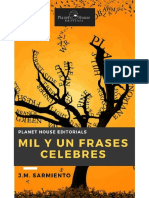 Mil y un frases famosas - Julio Marino Sarmiento Farrera