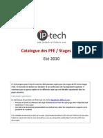 Catalogue Des Offres de PFE Et Stages