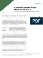 El robo de 140 joyas arqueológicas supone el mayor despojo del patrimonio artístico de México _ Edición impresa _ EL PAÍS