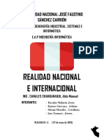 REALIDIAD NACIONAL