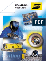 Welding and Cutting - Risks and Measures