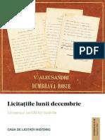 Historic Catalog Decembrie 2019