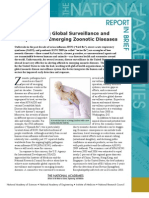 Sustaining Global Surveillance and Response to Emerging Zoonotic Diseases, Report in Brief